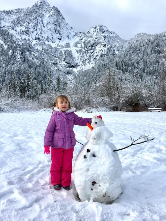 big four snowman